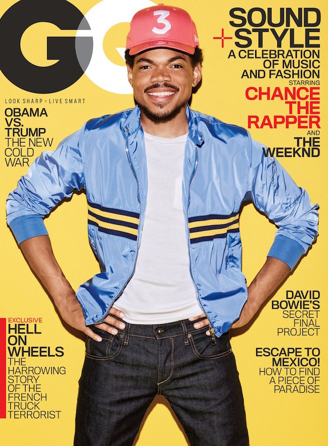 Chance the rapper gq cover