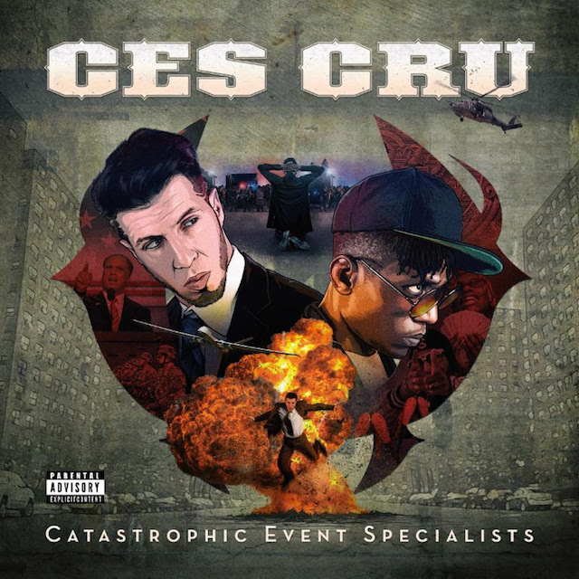 Ces Cru Catastrophic Event Specialists album cover art