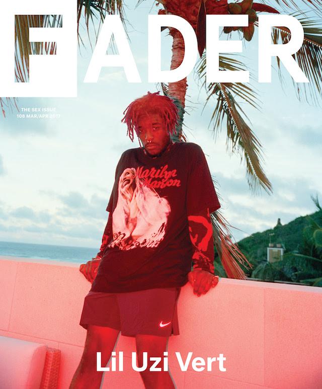 Lil Uzi Vert The FADER cover