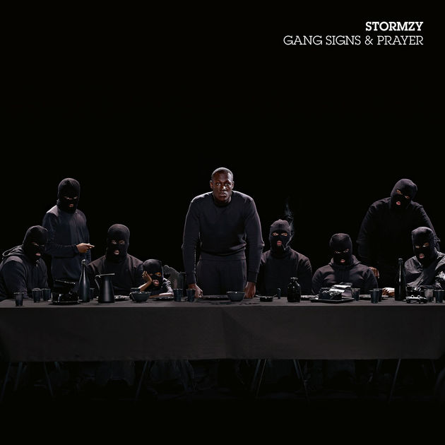 Stormzy Gang Signs & Prayer album cover art