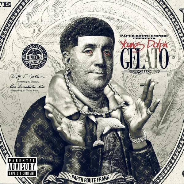 Young Dolph Gelato mixtape cover art