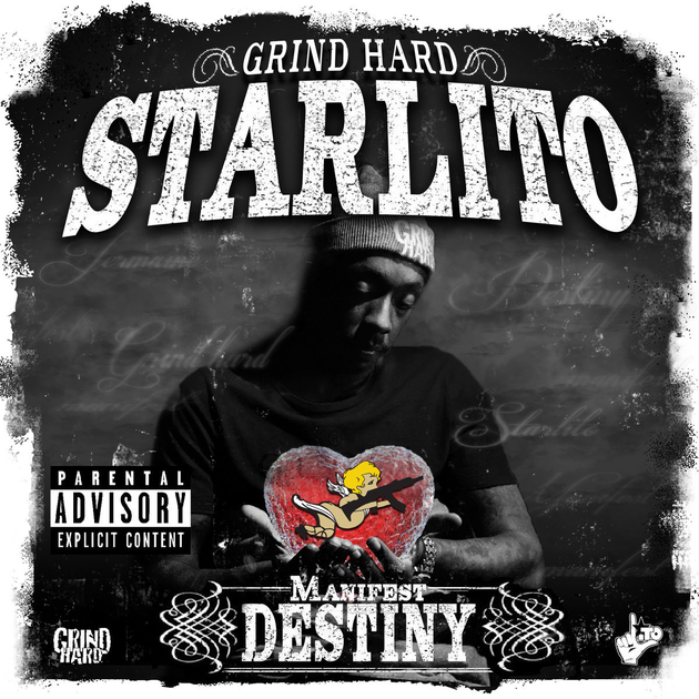 starlito manifest destiny album cover art
