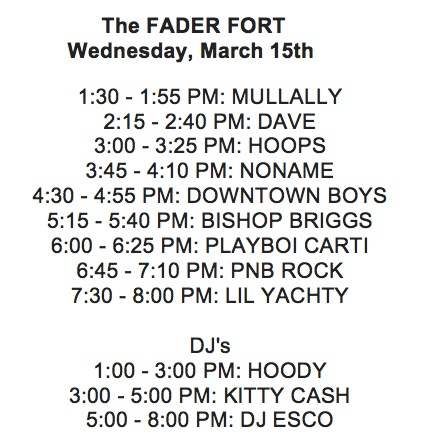 FADER FORT - Day One