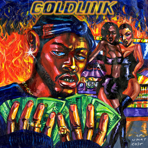 Goldlink at what cost album cover art