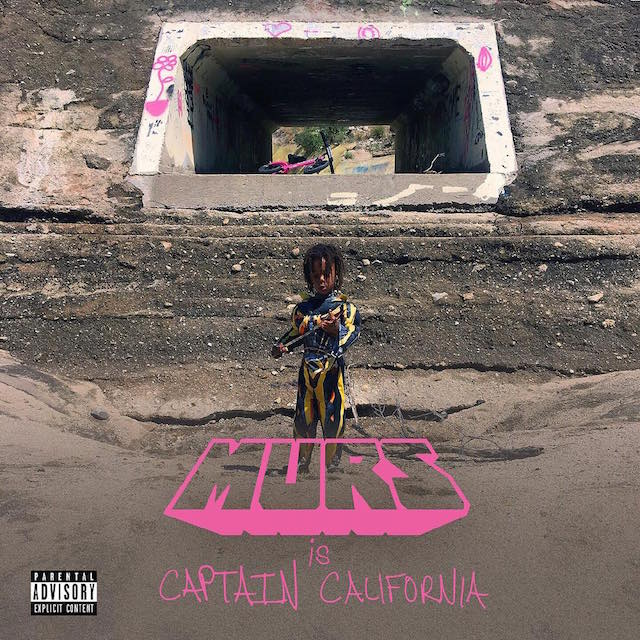 Murs captain california album cover art