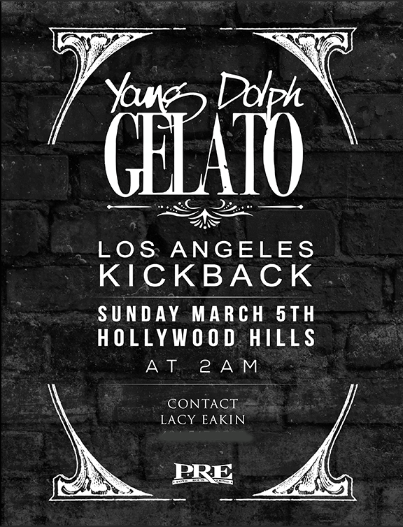 Young Dolph Gelato kickback