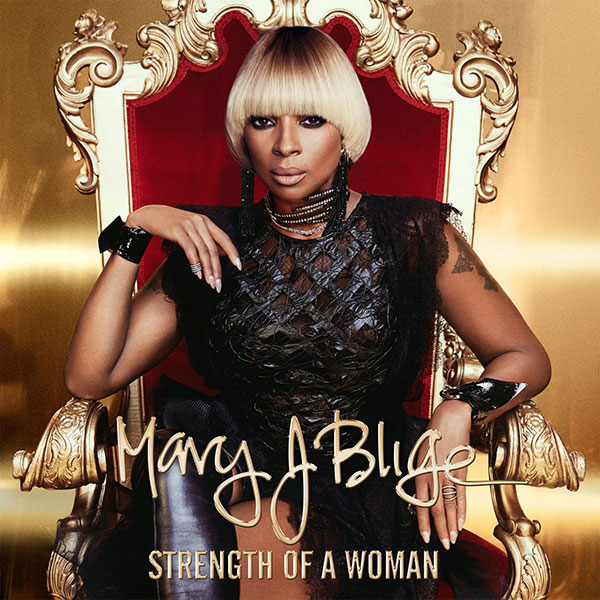 mary j blige strength of a woman album cover art