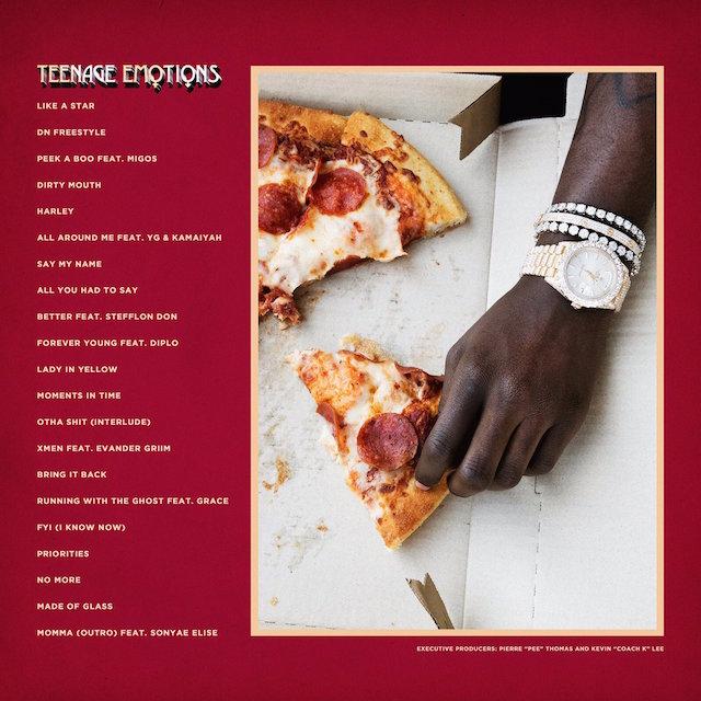 Lil Yachty teenage emotions album tracklist