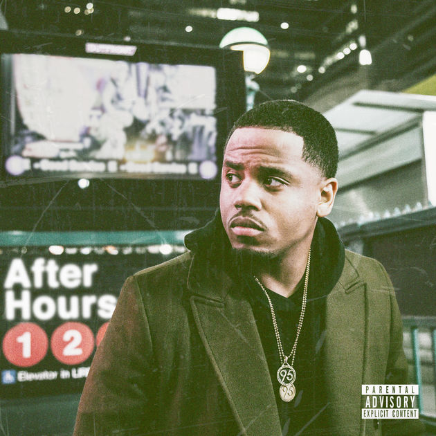 "Mack Wilds ""AfterHours"" album cover art"