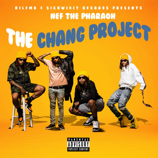 Nef The Pharaoh The Chang Project album cover art