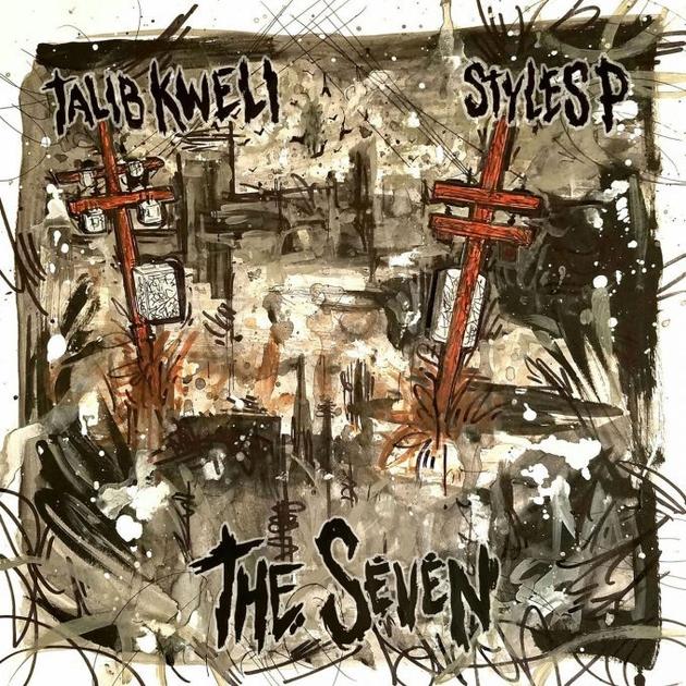 Talib Kweli Styles P The Seven album cover art