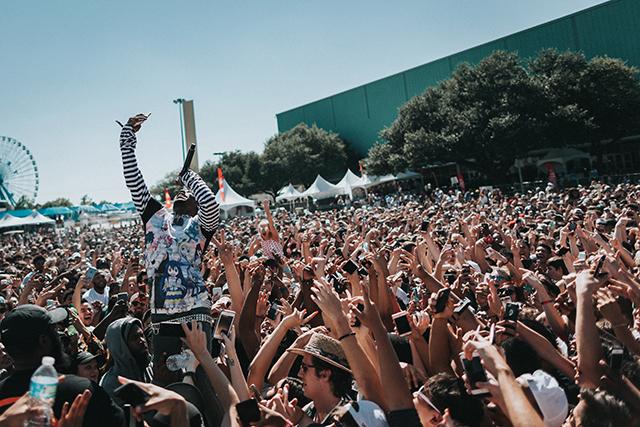 Lil Uzi Vert at JMBLYA (Austin) - Photo by: Amanda Elizabeth Johnson