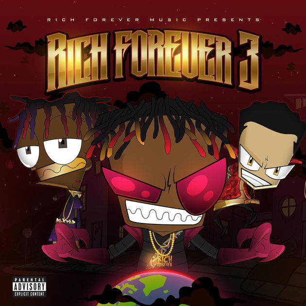 Rich The Kid Rich Forever 3 mixtape cover art