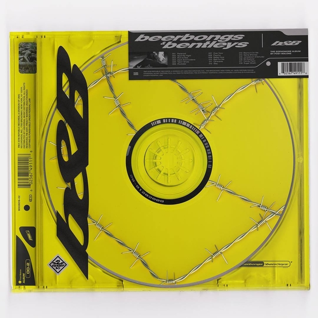 Post Malone Drops Beerbongs & Bentleys