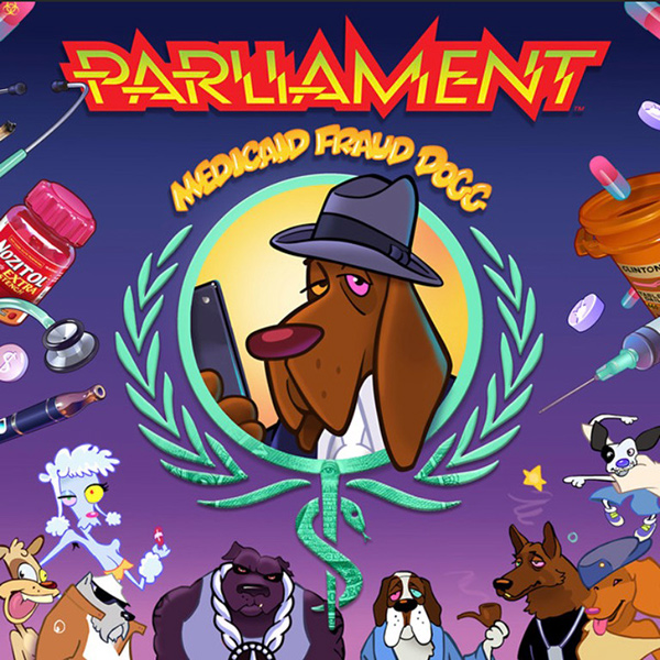"George Clinton & Parliament Release 1st Album In 38 Years ""Medicaid Fraud Dogg"""