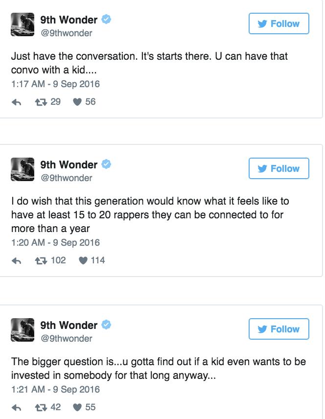 9th Wonder Lil Yachty Twitter 5