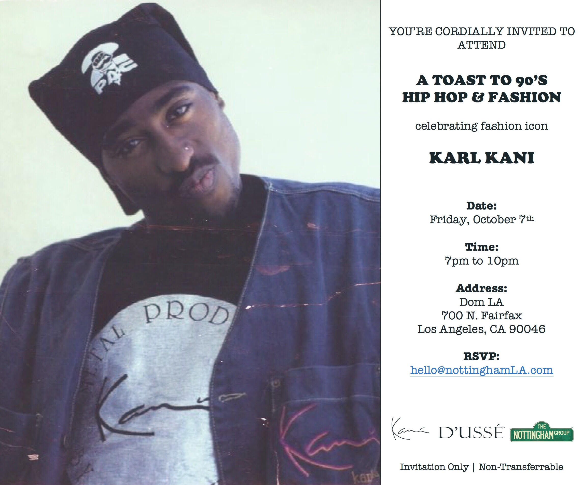 Karl Kani Brings The 90s Back | HipHopDX