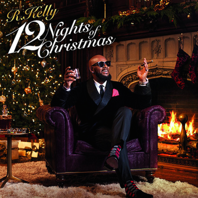 Christmas Album Cover Art.R Kelly Releases 12 Nights Of Christmas Album Stream