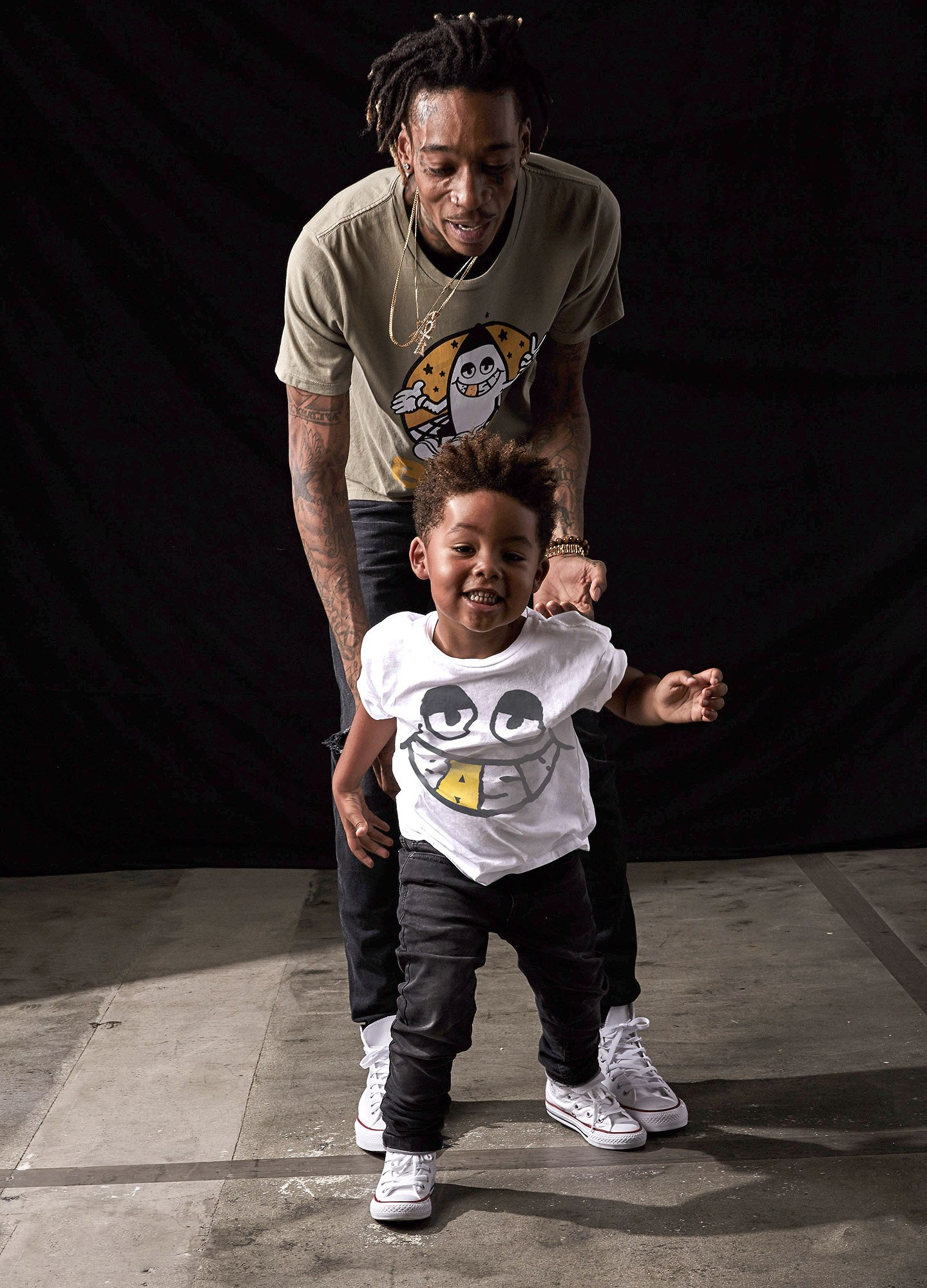 Wiz Khalifa Launches New Clothing Line For Fathers Sons