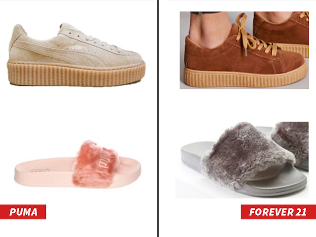 The Battle Over Between Puma and Forever 21 Creeper Sneakers