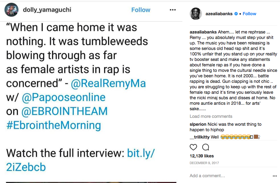 "Who's Remy Ma Dissing In New ""Roll In Peace"" Remix?"