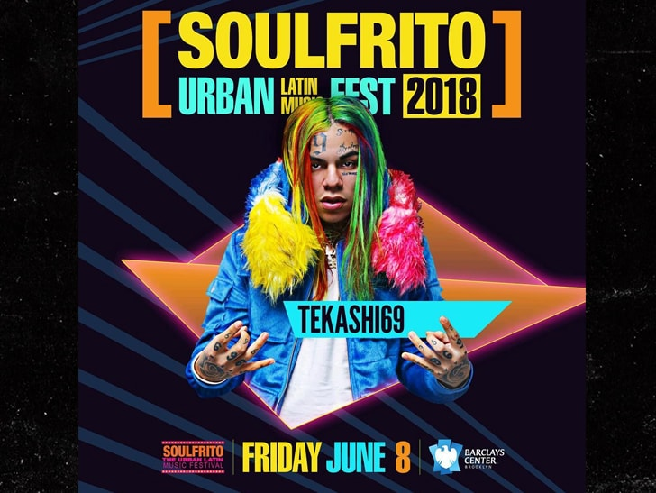 Tekashi 6ix9ine Reportedly Banned From Barclays Center