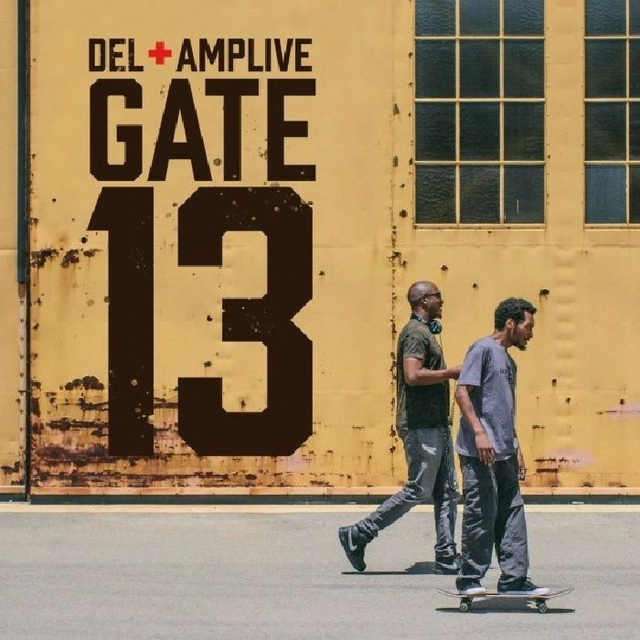 """Del The Funky Homosapien Teams With Amp Live For """"Gate 13"""" LP"""