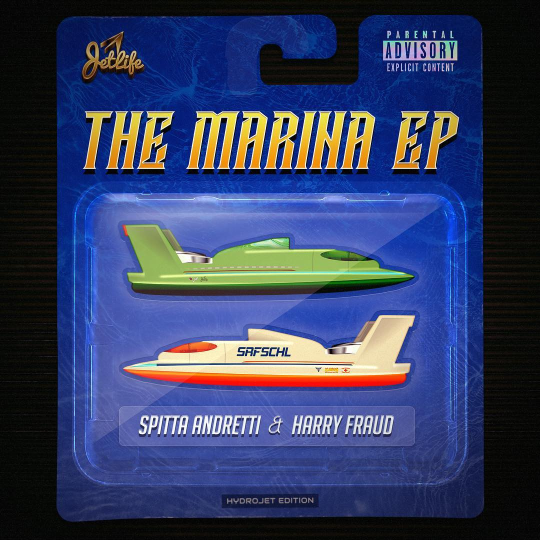 """Curren$y Unveils Release Date & Cover Art For """"The Marina"""" EP With Harry Fraud"""