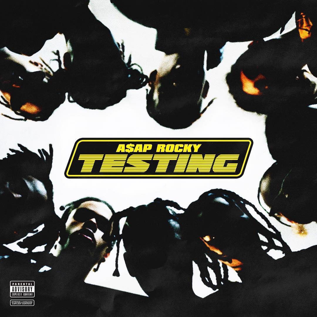 "A$AP Rocky Unveils Cover Art For ""Testing"" Album"